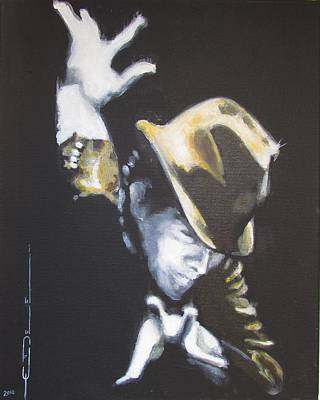Tom Waits Painting - Burma Shave 1979 by Eric Dee