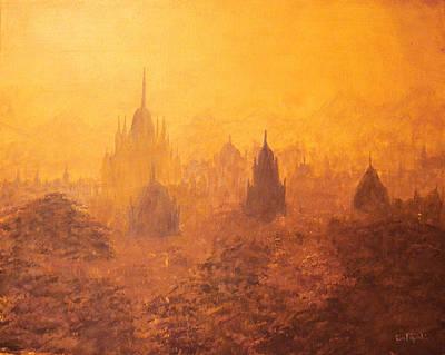 Buddhist Painting - Burma Temples by Ken Figurski