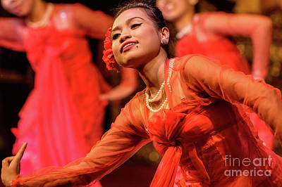 Photograph - Burmese Dance 1 by Werner Padarin