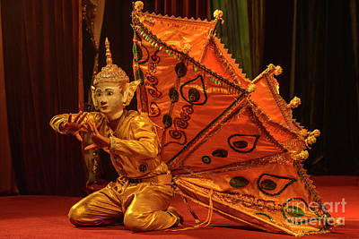Photograph - Burmese Dance 3 by Werner Padarin
