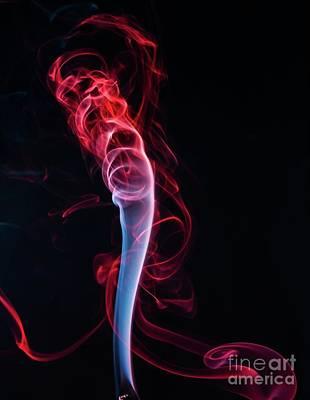 Digital Art - Burn-burnt Fume by S Art
