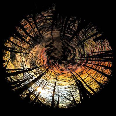 Photograph - Burn Circle by Jay Beckman