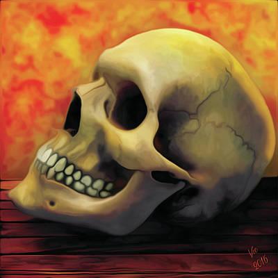 Digital Art - Burn It Down by Vic Weiford