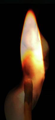 Watercolor Pet Portraits Digital Art - Burn by Kim Curinga