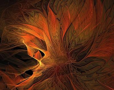 Burnt Digital Art - Burn by Amanda Moore