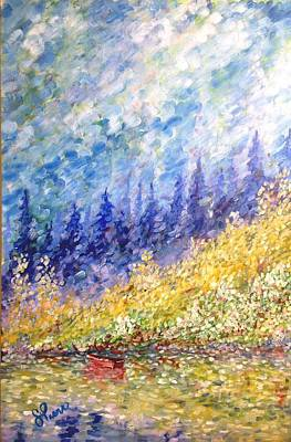 Burnaby Lake Art Print by Georges St Pierre