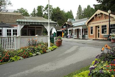 Photograph - Burnaby Village Museum by Frank Townsley