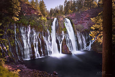 Photograph - Burney Falls by Jerome Obille