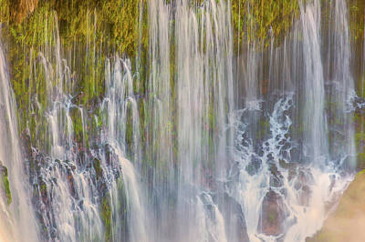 Photograph - Burney Falls by Marc Crumpler