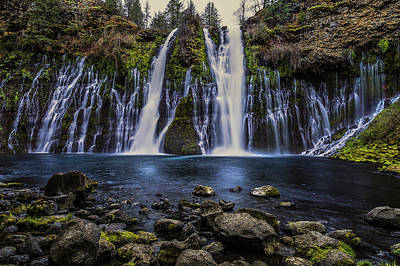 Railroad - Burney Falls by Don Hoekwater Photography