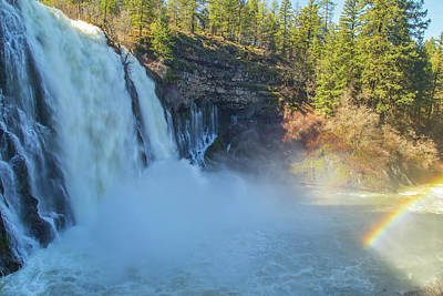 Photograph - Burney Falls Wide View by Marc Crumpler