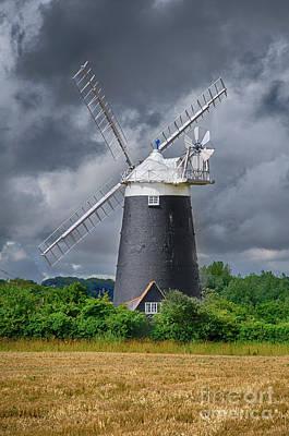 Burnham Overy Mill Art Print by Steev Stamford