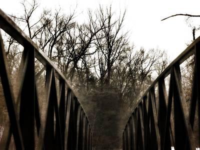 Photograph - Burning Bridges by Kyle West