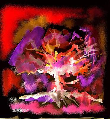 Burning Bush Digital Art - Burning Bush by Seth Weaver