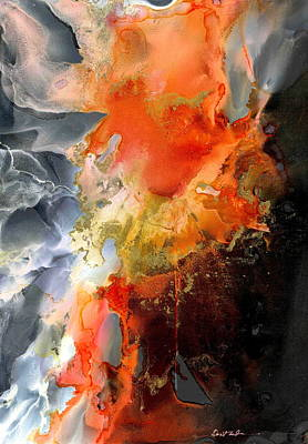 Wall Art - Painting - Burning Desire by Alexis Bonavitacola