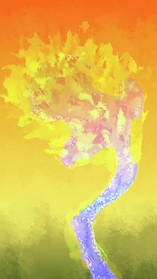 Digital Art - Burning Desire by Eduardo Tavares