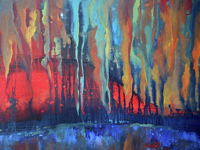 Painting - Burning Desire by Pic Michel