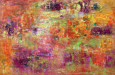 Painting - Burning Fire #2 by Davina Nicholas