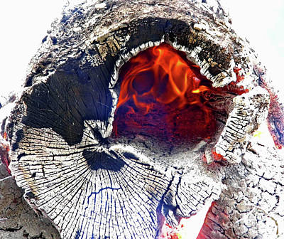 Photograph - Burning From The Inside Out by D Hackett