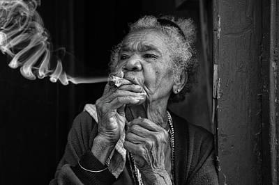 Photograph - Burning Money by Mary Buck