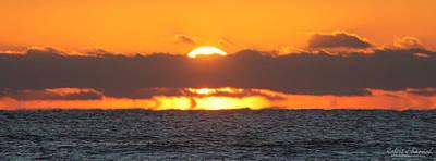 Photograph - Burning Ocean by Robert Banach