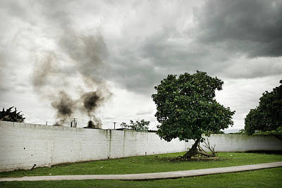 Photograph - Burning Rubber by Colleen Joy