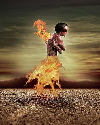 Photograph - Burning by Scott Meyer