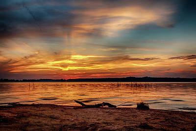 Photograph - Burning Sky by Doug Long