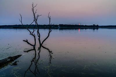 Photograph - Burning Sunset by Randy Scherkenbach