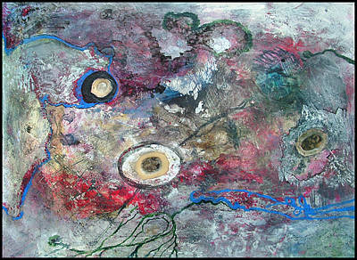 Mica Mixed Media - Burning The White Of An Eye by William   Hanson