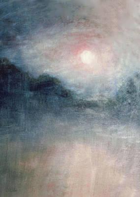 Painting - Burning  Through by David Wiles