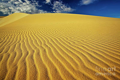 Burning Up At The White Sand Dunes - Mui Ne, Vietnam, Southeast Asia Art Print