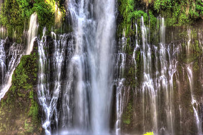 Photograph - Burney Falls 5 by Richard J Cassato