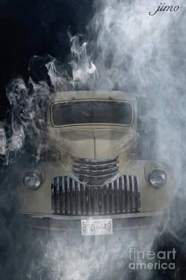 Digital Art - Burnout by Jim Hatch