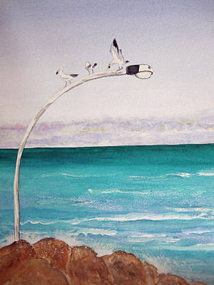 Burns Beach Art Print by Elvira Ingram