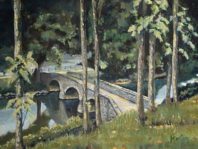 Burnside Bridge At Antietam Original