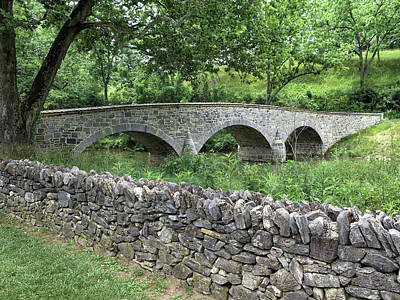 Photograph - Burnside's Bridge At Antietam by Dave Mills