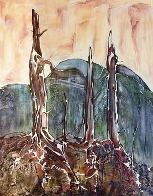 Painting - Burnt Lands by Pat Purdy
