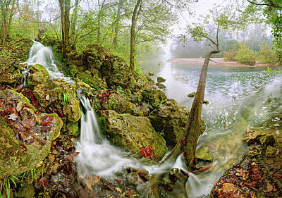 Photograph - Burnt Mill Spring by Robert Charity