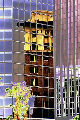 Tucson Digital Art - Burnt Out Reflection by Richard Henne