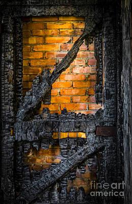 Burnt Digital Art - Burnt Out  by Svetlana Sewell