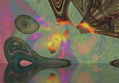 Digital Art - Burnth by Richard Thomas