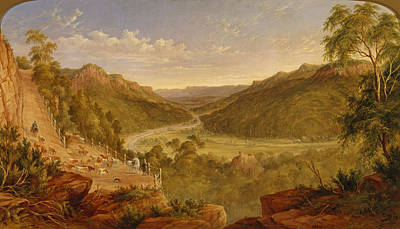 Painting - Burragorang Valley Near Picton by James Howe Carse