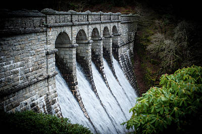 Burrator Reservoir Dam Art Print