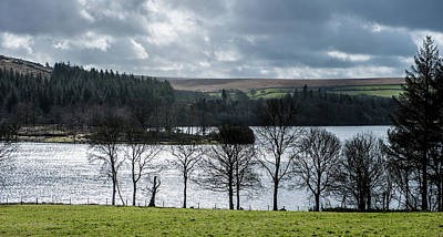 Photograph - Burrator Reservoir by Helen Northcott