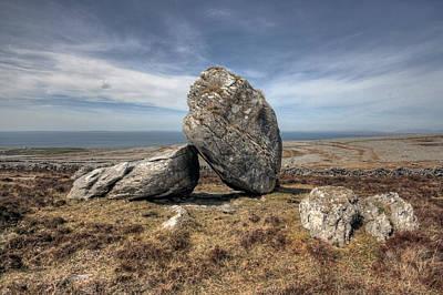 Beautiful Ireland Photograph - Burren Boulders by John Quinn