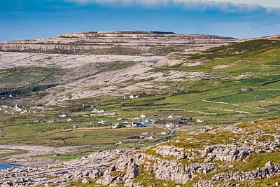 Photograph - Burren Limestone Landscape At Ballyvaughan by Pierre Leclerc Photography