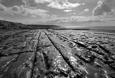 Photograph - Burren Limestone Landscape In Ireland by Pierre Leclerc Photography
