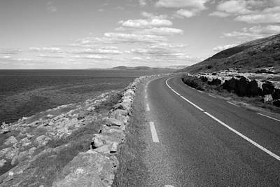 Fanore Photograph - Burren Road by John Quinn