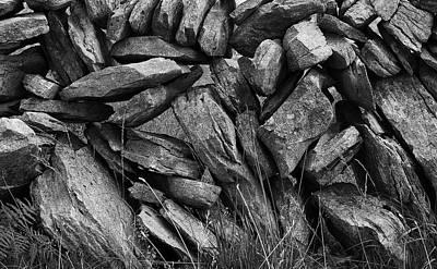 Photograph - A Burren Wall by John Farley